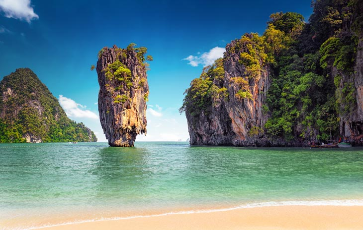 James Bond Insel,Phuket, Thailand